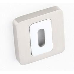 Rozeta kwadrat LK4 101S satyna chrom klucz KUCHINOX
