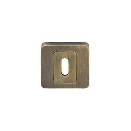 Rozeta kwadratowa LK4 401S patyna klucz KUCHINOX