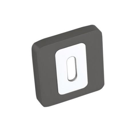 Rozeta kwadrat LK4 501A grafit-chrom klucz KUCHINOX