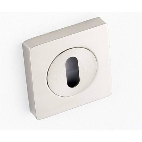 Rozeta kwadrat LK3 301A satyna klucz KUCHINOX