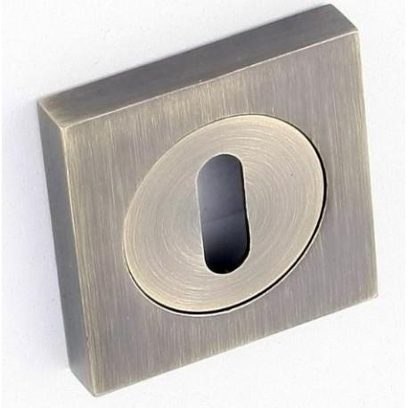 Rozeta kwadrat LK3 401A patyna klucz KUCHINOX
