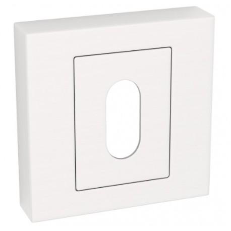 Rozeta kwadrat LK5 301A satyna klucz KUCHINOX
