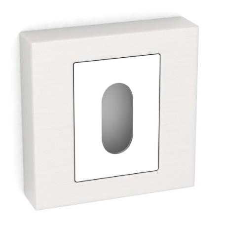 Rozeta kwadrat LK5 101A satyna klucz KUCHINOX