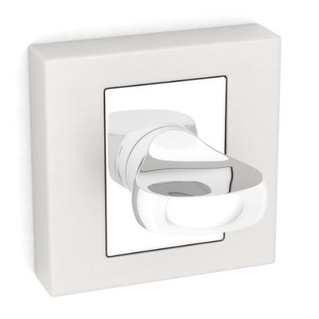 Blokada WC kwadrat LK5 103A satyna KUCHINOX