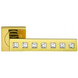 Klamka DIAMONDS Manital złoty polerowany