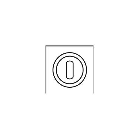 Rozeta kwadratowa na klucz PLT-25-N-WB00R-KW GAMET