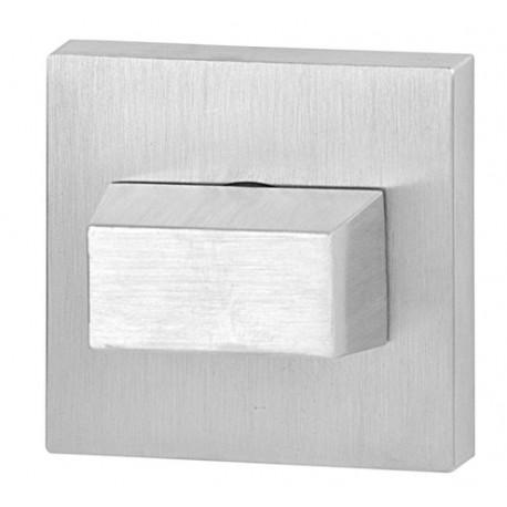 Blokada WC kwadrat R46 chrom szczotkowany VDS