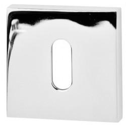 Rozeta kwadrat R65 chrom na klucz VDS