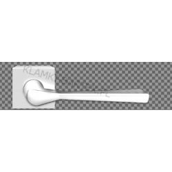 Klamka 3D szyld kwadratowy chrom polerowany