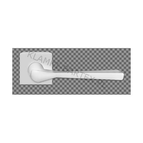 Klamka 3D chrom satyna