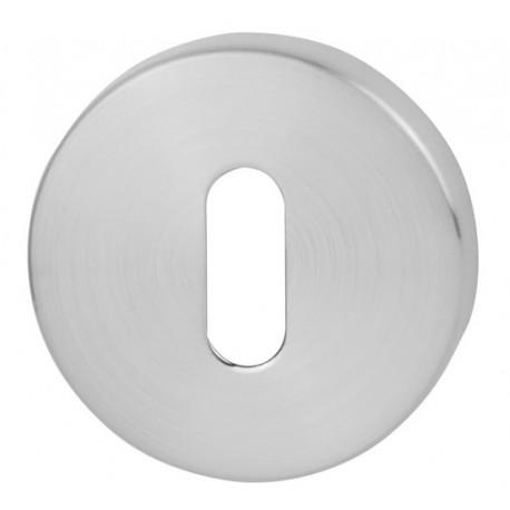 Rozeta okrągła R68 chrom satyna na klucz VDS