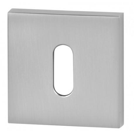 Rozeta kwadrat R67 chrom satyna na klucz VDS