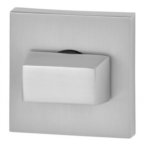 Blokada WC kwadrat R67 chrom satyna VDS