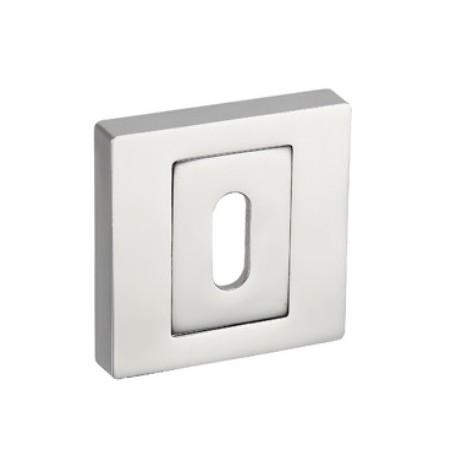 Rozeta kwadratowa RNQ 701 chrom na klucz