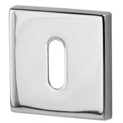Rozeta kwadrat R35V chrom na klucz DND