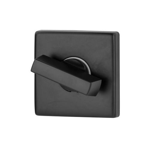 Blokada WC kwadrat R35V czarna DND