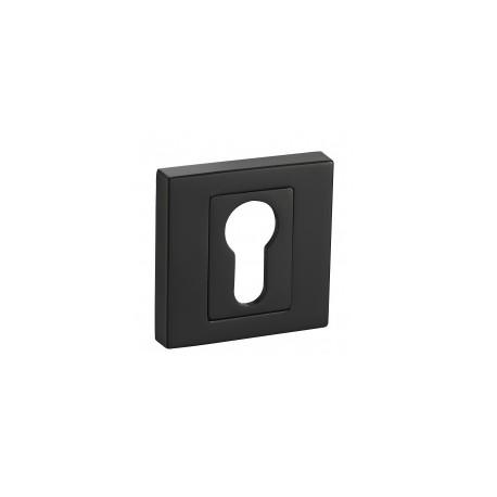 Rozeta RNQ B01 czarna kwadrat na klucz
