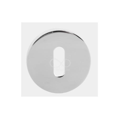 Rozeta okrągła RCC 701/CP chrom na klucz