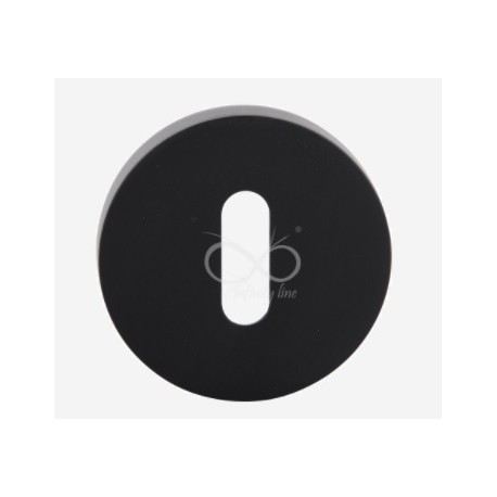 Rozeta okrągła RCC B01 czarna na klucz