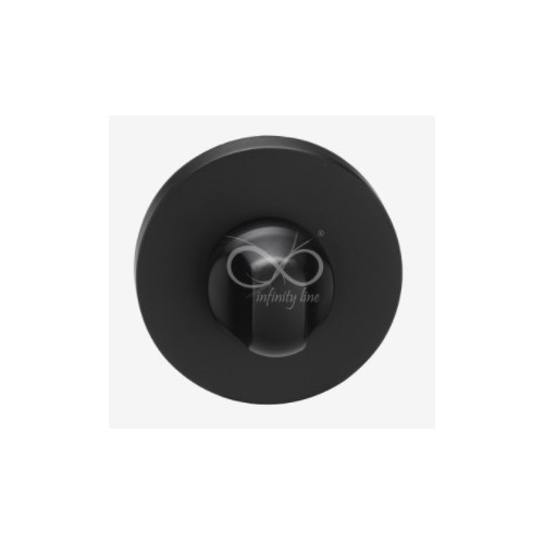 Blokada WC okrągła RCC B03/SB czarna