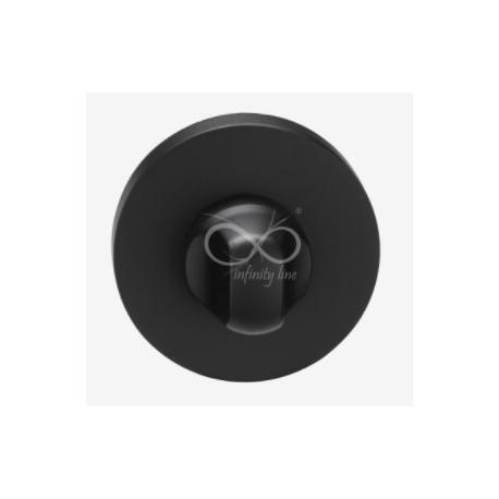Blokada WC okrągła RCC B03 czarna