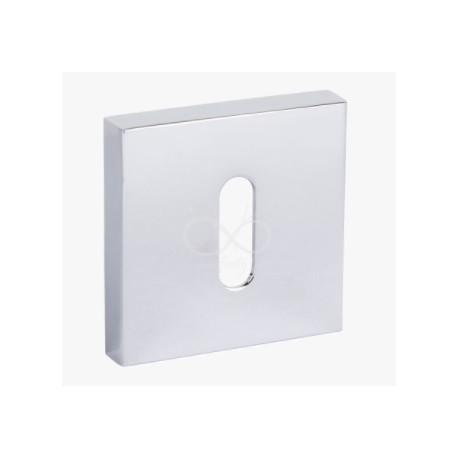 Rozeta kwadrat RYQ 701 chrom na klucz