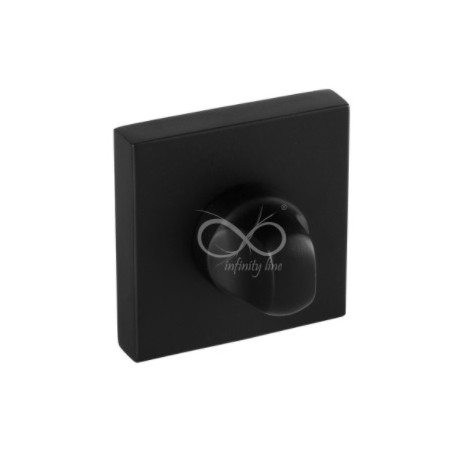Blokada WC kwadrat RYQ B03 czarna