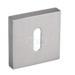 Rozeta kwadrat RYQ 601/MSN klucz satyna mat