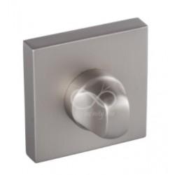 Blokada WC kwadrat RYQ 603/MSN satyna mat