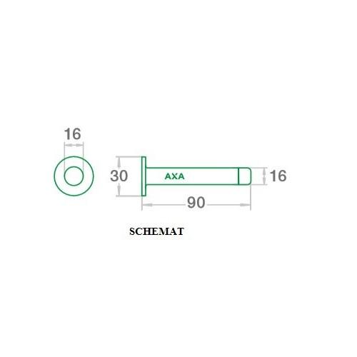 Odbój 6900-06 AXA inox