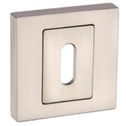 Rozeta kwadratowa RNQ 301 satyna na klucz