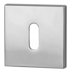 Rozeta kwadrat R67F chrom na klucz VDS