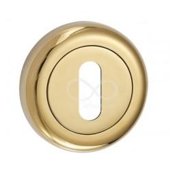 Rozeta okrągła RCO G01 chrom na klucz