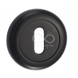 Rozeta okrągła RCO 801 czarny na klucz