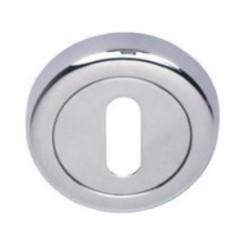 Rozeta okrągła R2 chrom-satyna na klucz VDS