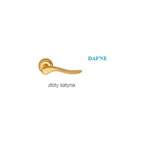 Klamka DAFNE złoty satyna