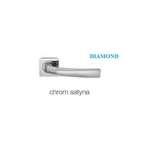 Klamka DIAMOND KWADRAT chrom satyna