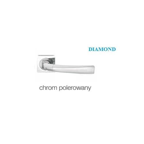 Klamka DIAMOND KWADRAT chrom polerowany