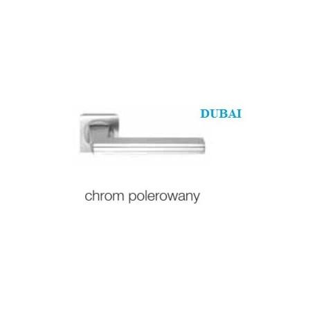 Klamka DUBAI szyld kwadratowy chrom polerowany