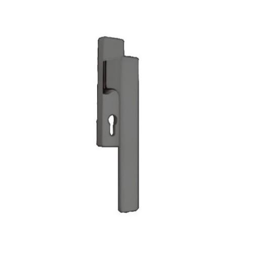 Klamka okienna MINIMAL 225mm HS portal CR-K czarny M&T