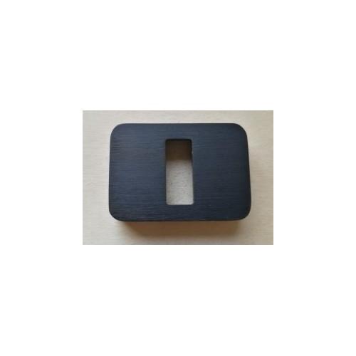 Rozeta na klucz Minimal/Maximal CR-K czarna M&T
