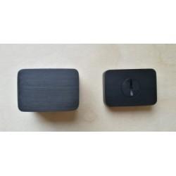 Rozeta WC Minimal/Maximal CR-K czarna M&T