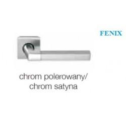 Klamka FENIX chrom polerowany-chrom satyna