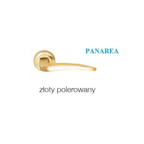 Klamka PANAREA złoty polerowany