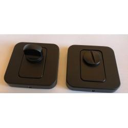Blokada WC T-004-120.P61 czarna NOMET