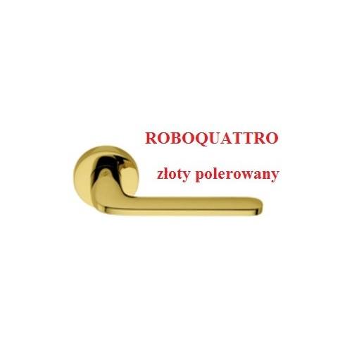 Klamka ROBOQUATTRO złoty polerowany