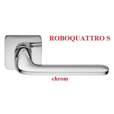 Klamka ROBOQUATTRO S szyld kwadratowy chrom polerowany