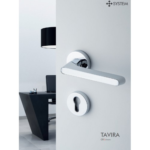 Klamka TAVIRA CBM - chrom szczotkowany