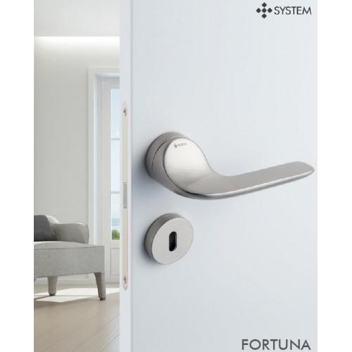 Klamka FORTUNA NBM - nikiel szczotk. matowy