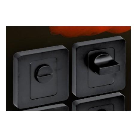 Blokada WC kwadrat czarna VDS
